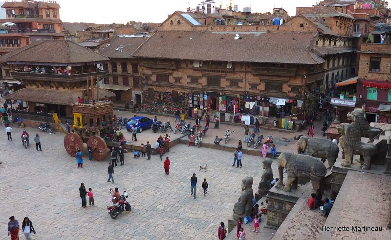 111 la grande place de Baktapur