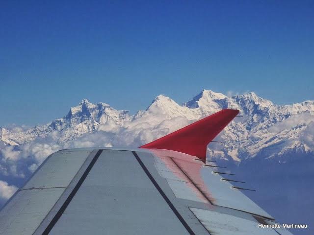 113 Himalaya vu d'avion par Robert