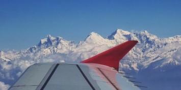 L'Himalaya de l'avion