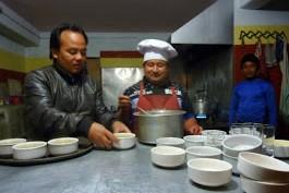 65 ratatouille le chef eco hôtel Nagarkot
